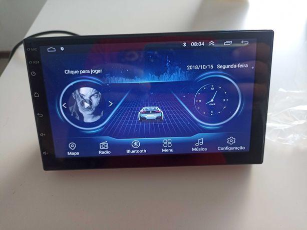 Auto Radio Android 2DIN de Ecra tactil - Com camara traseira - GPS