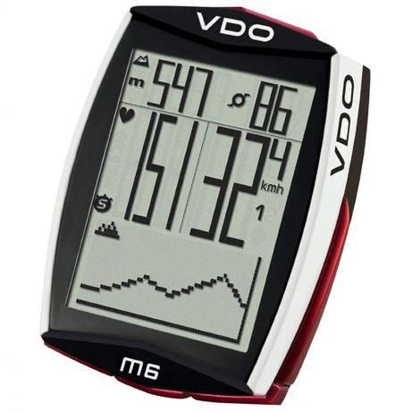 Ciclo computador VDO M6 full kit