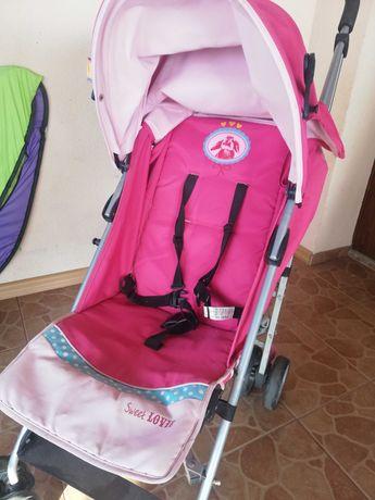 Spacerówka dla dziewczynki