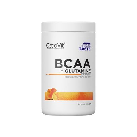 BCAA + GLUTAMINE Ostrovit 500 грамм Аминокислоты КУПИТЬ УКРАИНА