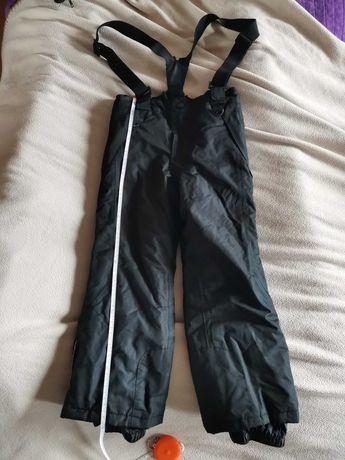 Spodnie narciarskie z szelkami chłopięce roz. 116