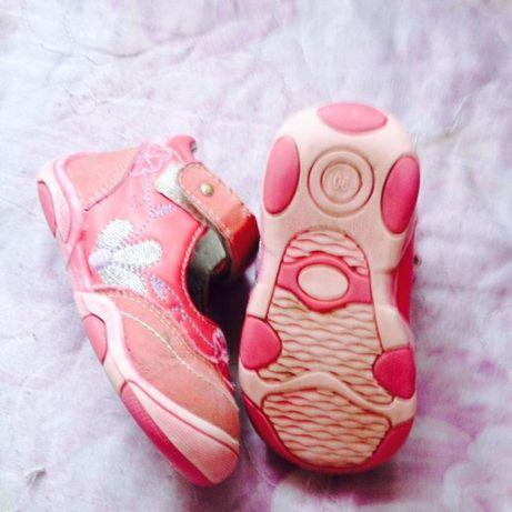 Яркие туфли-ботиночки