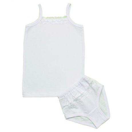 Комплект для девочки, детская одежда из хлопка, нижнее белье для детей
