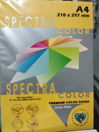 Продам бумагу цветную и папки