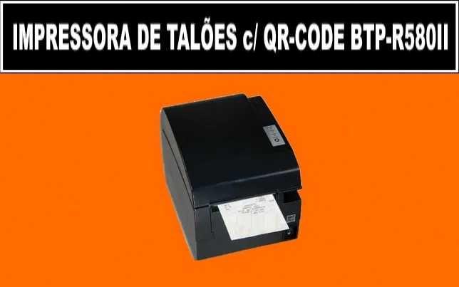 Impressora de talões QR-Code 80mm - Como Nova - Fatura ao comprador