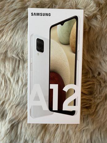 Samsung A12 Biały 64GB Nowy Zafoliowany