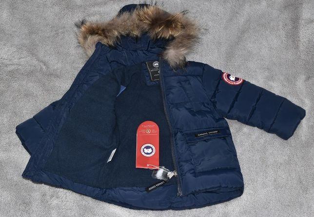 Куртка зимняя для мальчика Canada Goose, очень теплая зимняя куртка.
