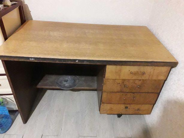 ОТДАМ шкаф+стол б/у советские