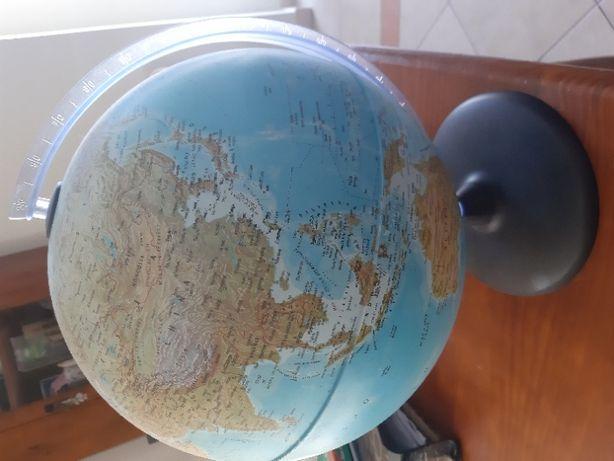 Globo mundial Iluminado NOVO 30 cm
