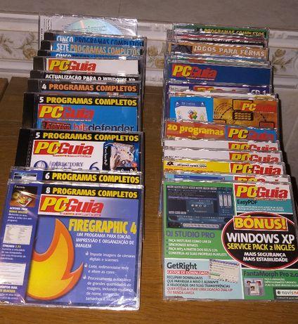 Lote 31 CDs com software PCGuia novos