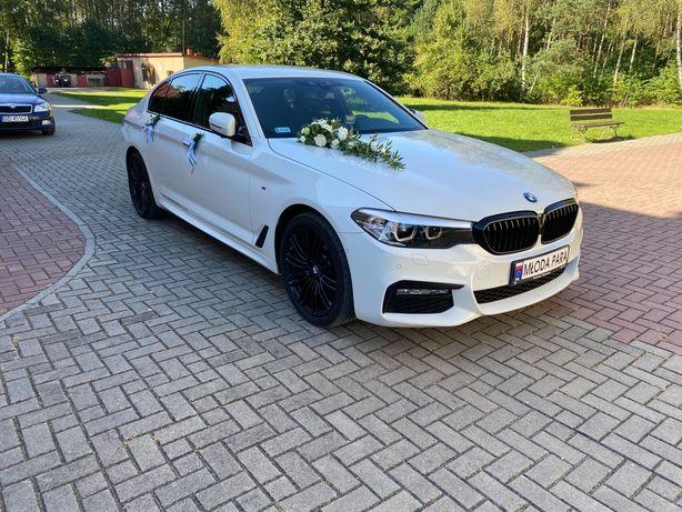 Samochód do ślubu BMW Serii 5 Limuzyna