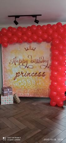 Банер фотозона на день народження