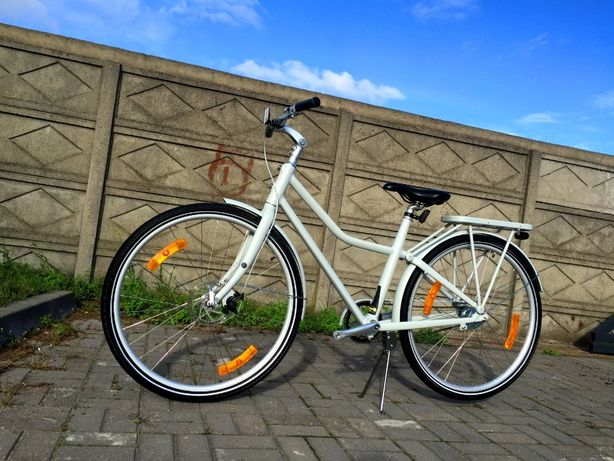 NOWY Rower Miejski * DYNABIKE STADLER 28R * Sram AUTOMATIX Bagażnik 28