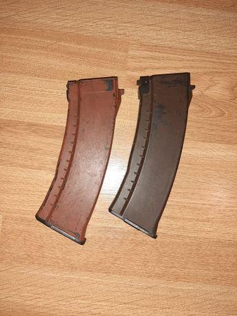 Magazynki magazynek mid cap AK74 AK74M AKS74U bakelitowy śliwkowy asg