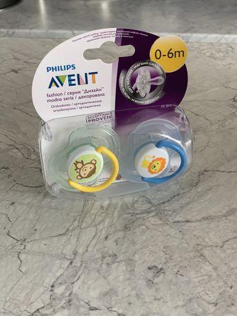 Пустышка Philips Avent ортодонтическая, 0-6 мес