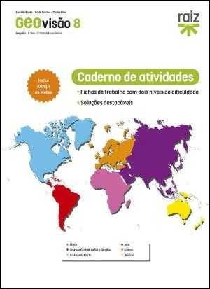 Caderno de Atividades - GEOvisão - Geografia - 8.º Ano