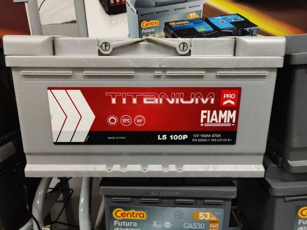 Akumulator Fiamm TITANIUM PRO 12V 100Ah 870A P+ Kraków