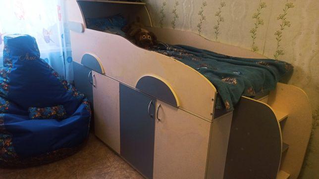 Детская кровать, кровать в спальню, кровать для ребёнка, для юноши