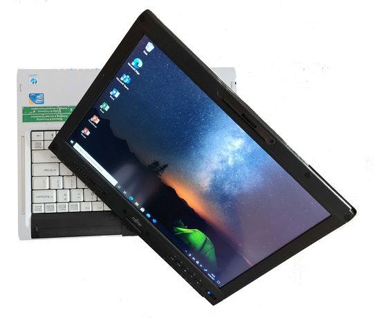 Laptop Fujitsu obrotowy, dotykowy ekran: i7, 8GB RAM, 120GB SSD, Win10