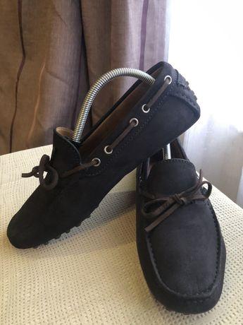 Туфли-мокасины brunello cucinelli 41