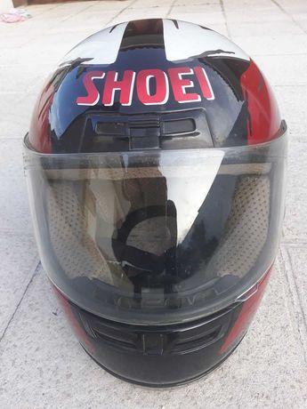 Capacete Shoei usado