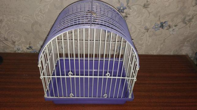 Маленькая клетка для птиц. Переноска