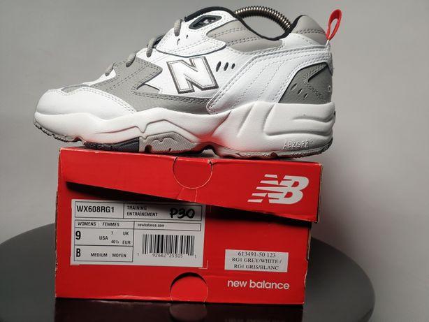 P30 buty new balance r 40.5 nowe, szaro białe sportowe