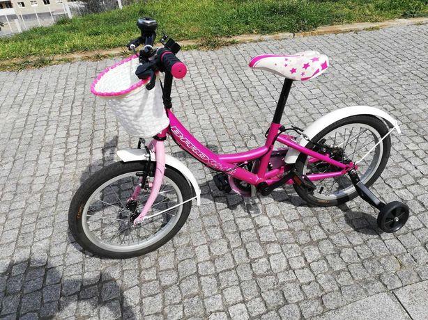 Bicicleta de Criança Menina - Roda 16´´ B-Pro - Pouco Usada