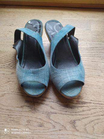 Buty za 5 zł na koturni