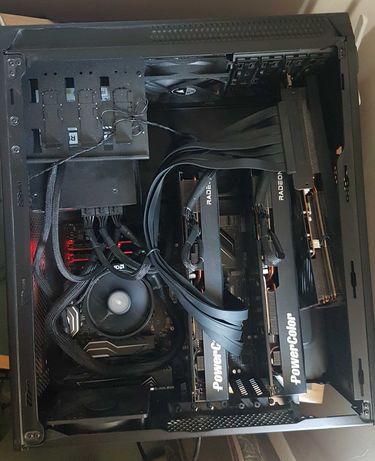 Mining Rig 184 MH/s 3x rx6800 ou PC Gaming