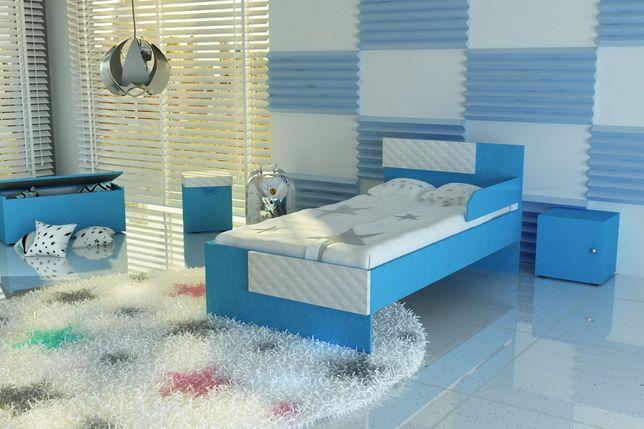 Łóżko dziecięce,dla dziecka,tapicerowane, materac Gratis.Transport