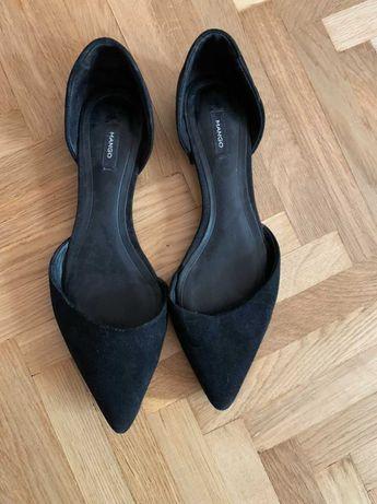 Чёрные туфли Mango