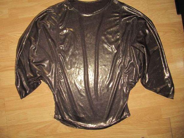 złota bluzka / tunika m/l