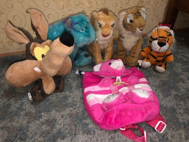 Мягкие игрушки,корпорация монстров,король лев