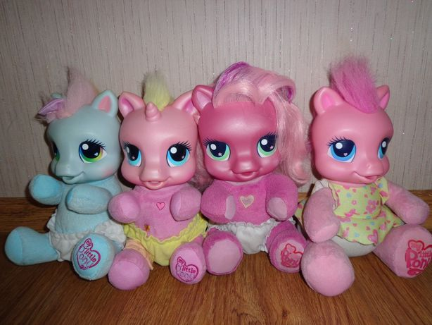 Интерактивная лошадка пони Пинки Пай Радуга My Little Pony + расческа