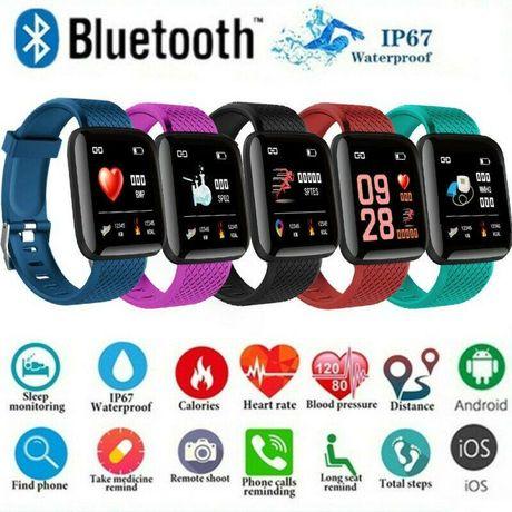 Zegarki ciśnieniomierze pulsometry, funkcję sport, SMS POŁĄCZENIA NOWE