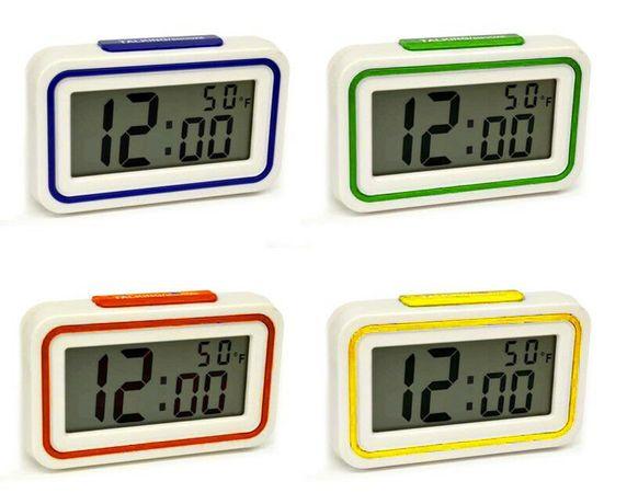 ZEGAR KENKO BUDZIK wielofunkcyjny termometr mówiący
