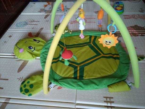 Развивающий коврик черепаха