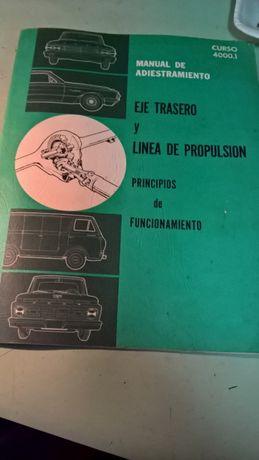 Manual Ford, eixo trazeiro