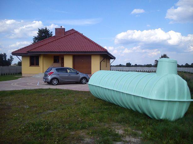 Zbiornik plastikowy szczelny na szambo, szamba, deszczówkę