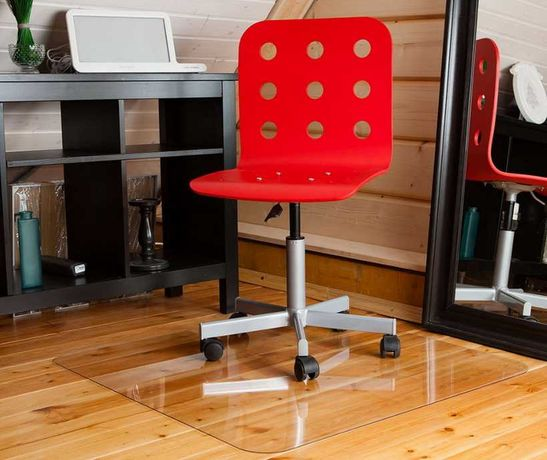 Износостойкий, защитный коврик-подложка под офисную мебель.