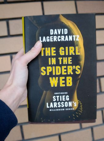 The Girl in a spider's web D. Lagercrantz (thriller po angielsku)