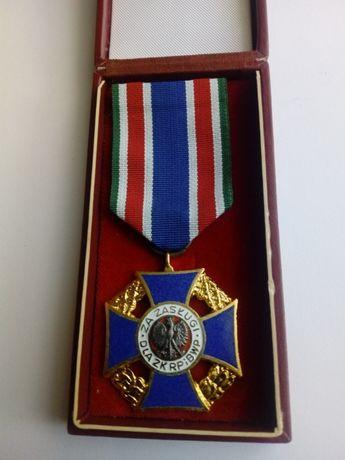 Medal za zasługi ZK RP I BWP-orginał