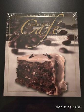 Livro receitas de Café