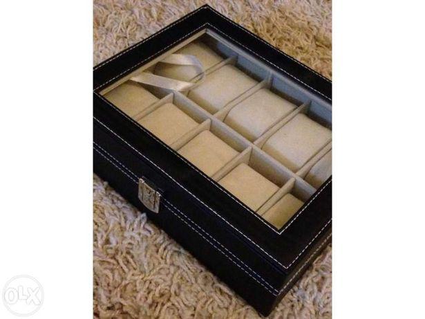 Caixa de madeira para guardar relógios alta qualidade