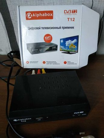 Alphabox T12 цифровой эфирный DVB-T2 ресивер