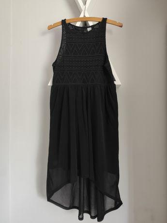 Rozmiar S czarna sukienka H&M