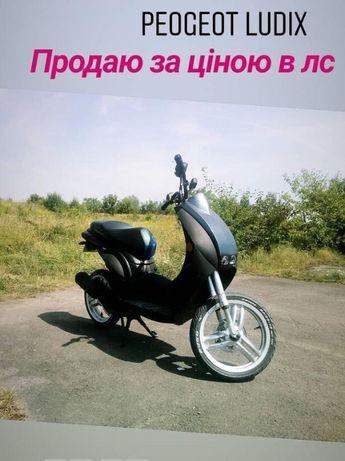 Peugeot ludix 80cc на доках (скутер стант)