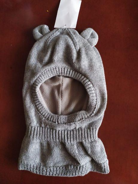 тепла шапка фірми Н&М на флісі