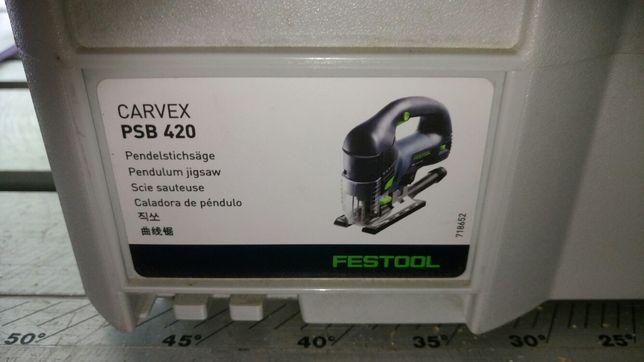 Festool wyrzynarka CARVEX PSB 420 EBQ - Plus
